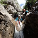 Canyoning a ancelle ©en montagne
